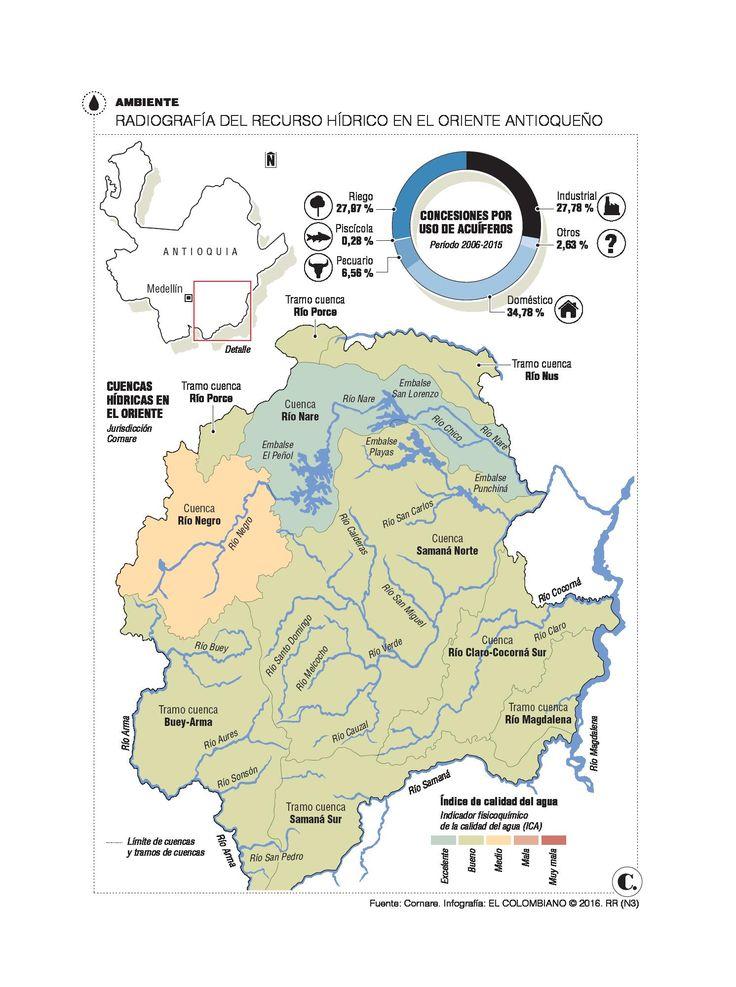 Agua en el Oriente de Antioquia cada vez es más escasa