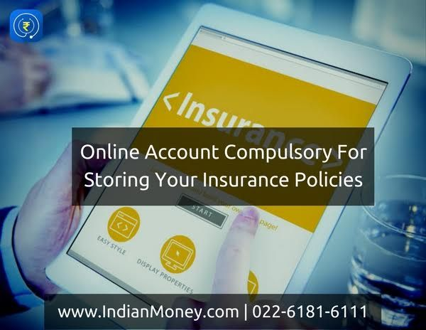 Online Account Compulsory For Storing Your Insurance Policies Online Accounting Insurance Policy Accounting