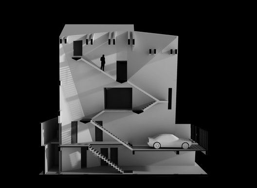 Folding Wall House,Rendering 6