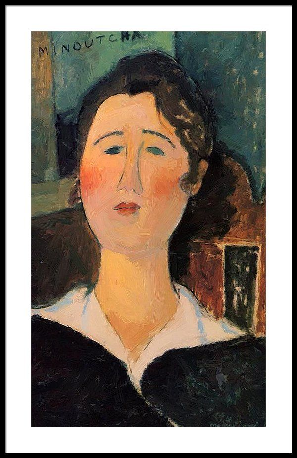 Set of 4 NEW Amedeo Modigliani Expressionism Art Paintings Postcards Prints 91M