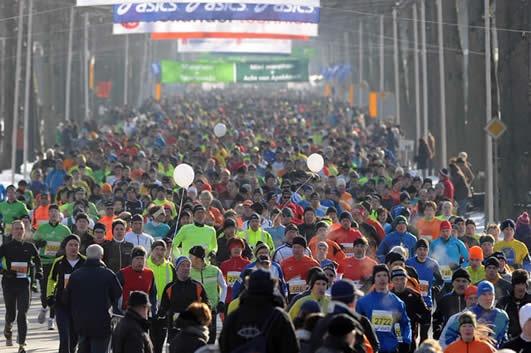 De Midwinter Marathon, 2 feb 2014, 27,5 km.