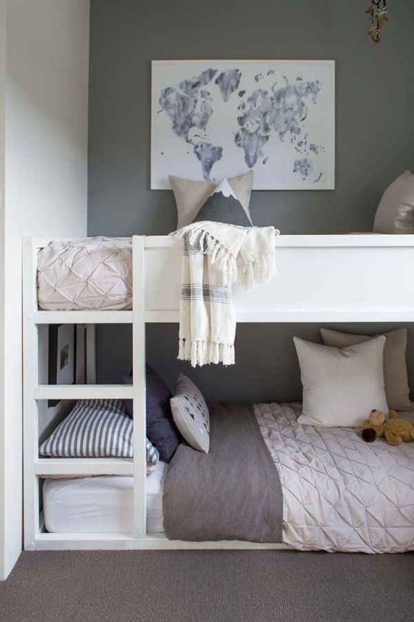 M s de 25 ideas incre bles sobre litera en pinterest for Bedroom ideas for baby boy and girl sharing