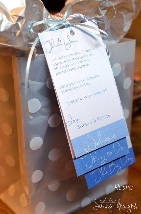 Cruise Wedding Gift Bag Ideas : ideas about Wedding welcome bags on Pinterest Welcome bags, Wedding ...
