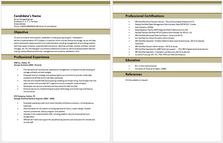 Architecture Resume Sample Ideal Enterprise Architect Resume Samples