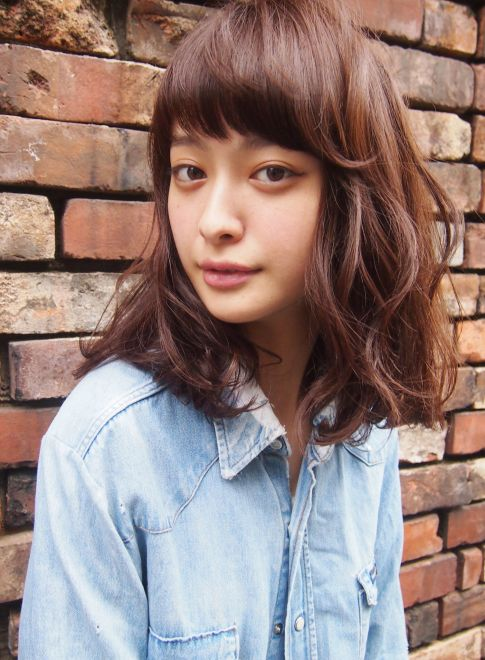 外国人風 / 無造作 ミディアム 【LOAVE OMOTESANDO】 http://beautynavi.woman.excite.co.jp/salon/27403?pint ≪ #mediumhair #mediumstyle #mediumhairstyle #hairstyle・ミディアム・ヘアスタイル・髪形・髪型≫