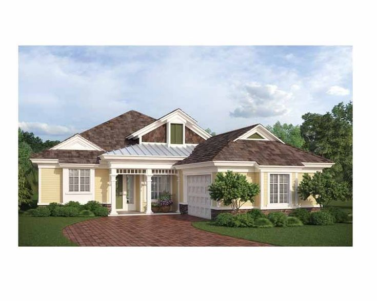 22 best house plans images on pinterest cottage floor for Family home plans 82230