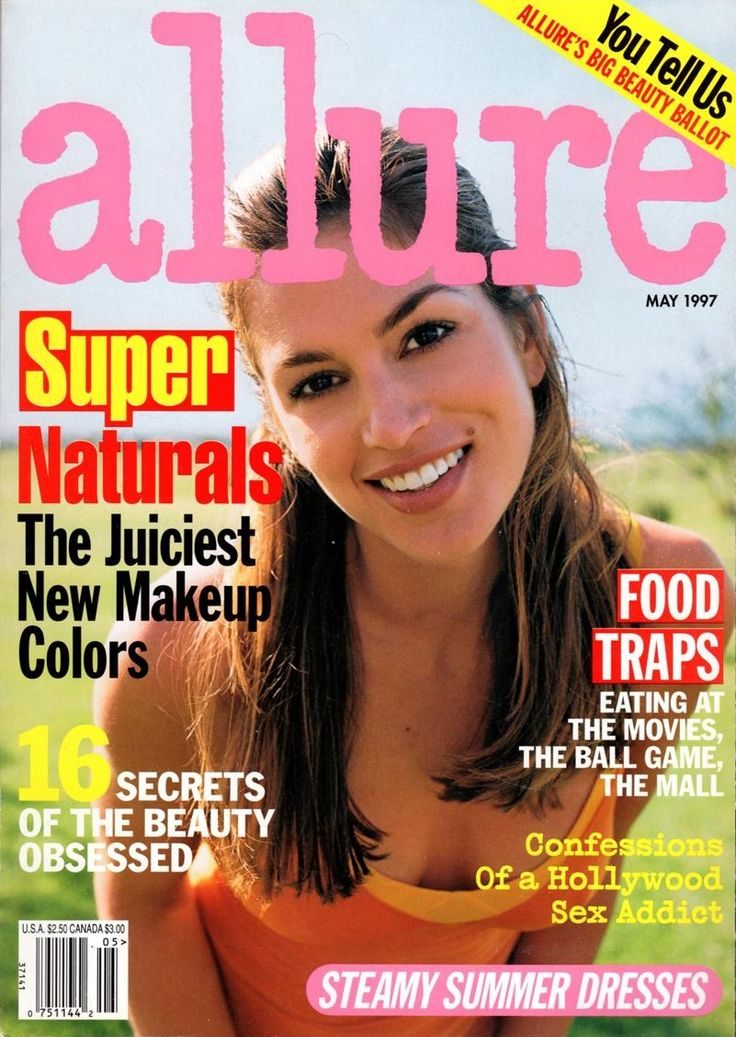 ALLURE May 1997 - Cindy Crawford   [ALLURE] Fashion ...