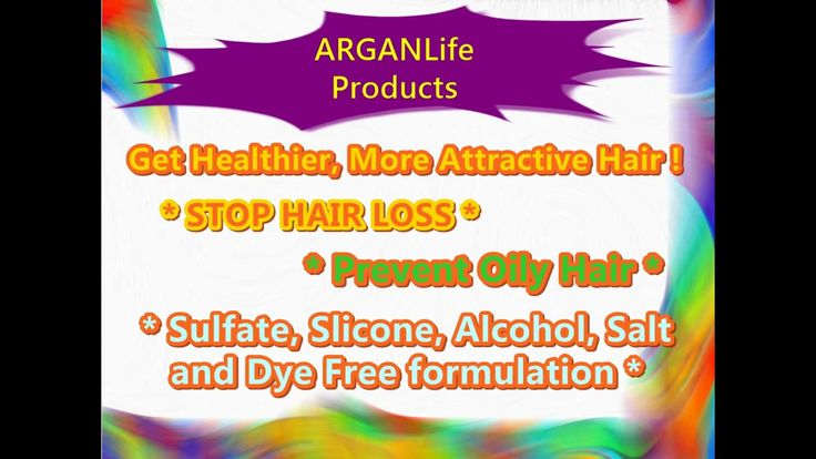HELPS TO STOP HAIR LOSS  UNIQUE FORMULATION  Sulfate, Silicone, Alcohol, Salt and Dye Free Formulation  Special Formulation with %100 Organic Argan Oil  Prevent Oily Hair