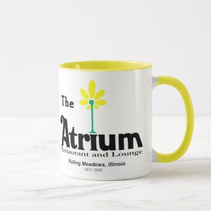 The Atrium Restaurant Rolling Meadows IL Mug - decor gifts diy home & living cyo giftidea