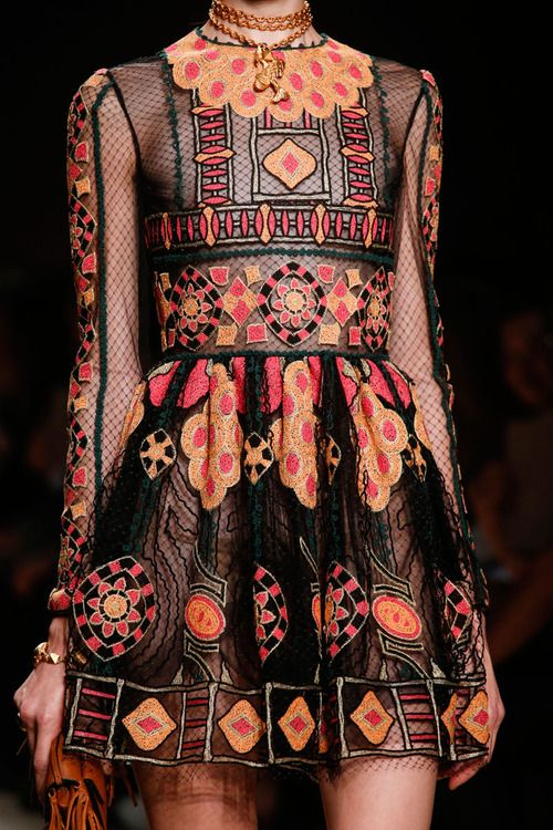 this dress is.. amazing! ~ valentino spring 2014