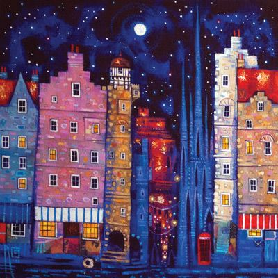 Royal Mile Moon by Ritchie Collins (LC40)