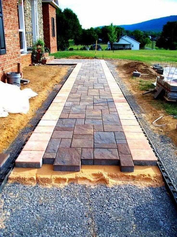 ✔45 best front yard pathway landscaping ideas 25 – BB