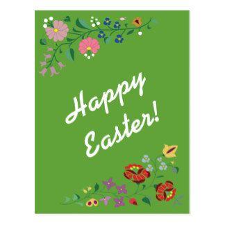 Postcard- Easter Embrodery Postcard