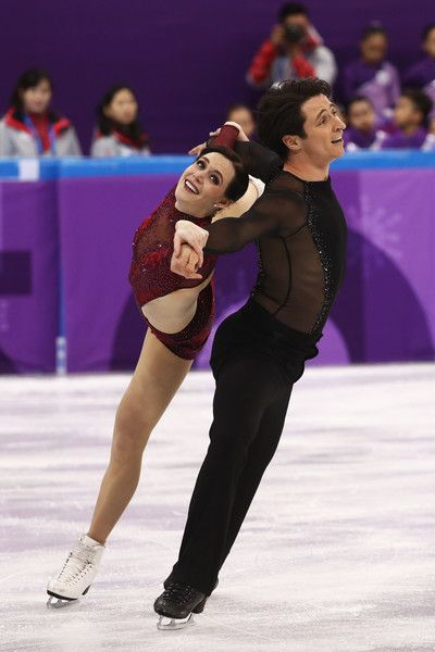 Tessa Virtue and Scott Moir of Canada skate during the Ice Dance Free Dance section of the Team Event on day three of the PyeongChang 2018 Winter Olympic Games at Gangneung Ice Arena on February 12, 2018 in Gangneung, South Korea. - Figure Skating - Winter Olympics Day 3