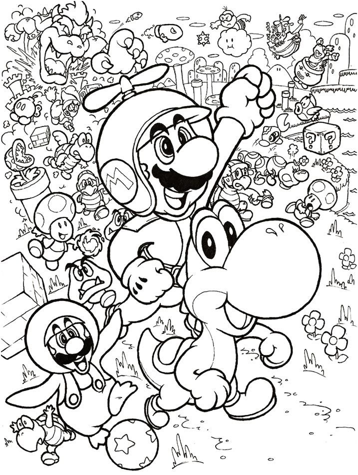 8 Classique Coloriage Mario 3d Land Gallery Mario Coloring Pages Pokemon Coloring Pages Abstract Coloring Pages