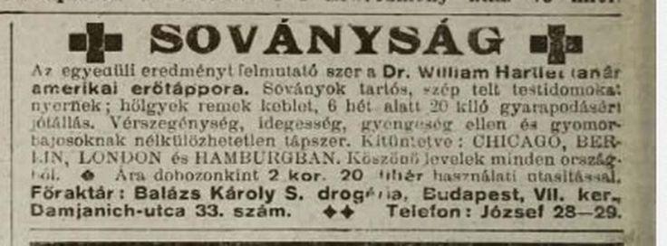 Soványság ellen. Tolnai Világlapja, 1914.09.27. (Forrás: www.arcanum.hu)