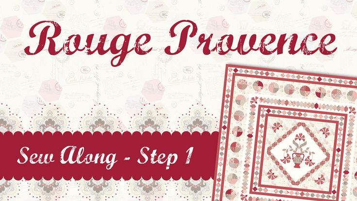 <p>Hello+everyone,+Welcome+to+my+latest+sew+along,+Rouge+Provence!+I+am+very+excited+to+share+this+project+with+you+and+cannot+wait+to+see+all+of+your+work.+This+quilt+has+been+made+with+my+latest+fabric+range+from+Penny+Rose+Fabrics,+Beaujolais.+Be+sure+to+visit+your+local+…</p>