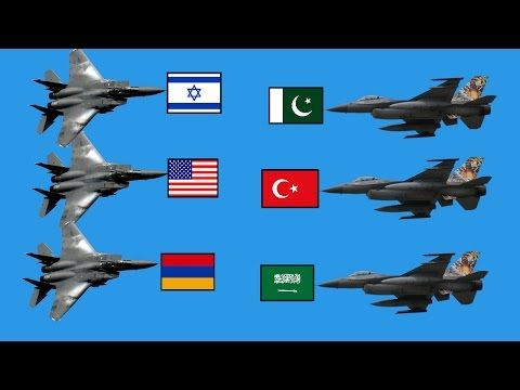 Scary İslam Power! (TURKEY,PAKİSTAN,SAUDİ ARABİA) VS (USA,ISRAEL,ARMENİA) 2017 (Scary Power) - YouTube