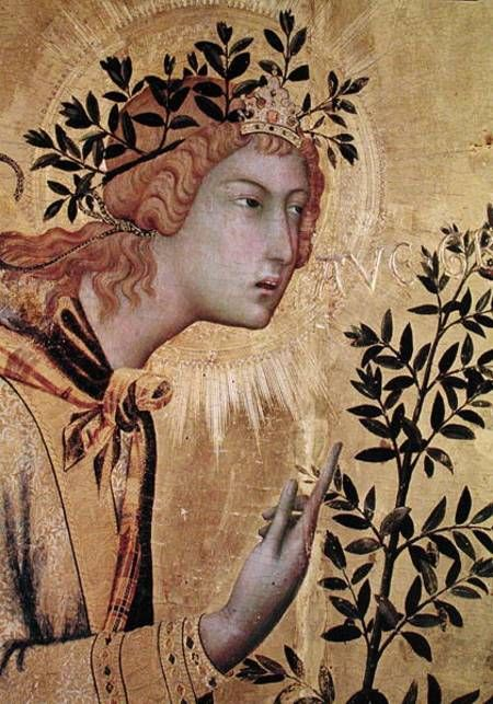 Simone Martini Paintings | image simone martini the annunciation with st margaret and st asano ...