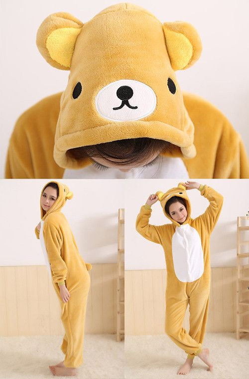 Various Kigurumi Pajamas Onesies For Adults Animal suits Cosplay Costume Winter Unisex Sleepwears-in Pajama Sets from Apparel & Accessories on Aliexpress.com