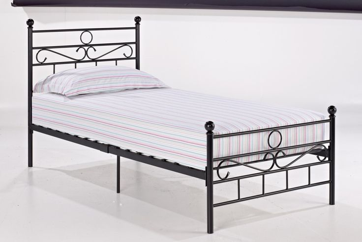 Bonsoni is proud to present this Opal Single Metal Bed Frame 3ft Black by Lloyd Phillip & Delric which has Assembled Dimension: 1970 x 915 x 1015. A budget priced bed, available in black or white comes packed in one carton for easy storage and handling.  http://www.bonsoni.com/opal-single-metal-bed-frame-3ft-black-by-lloyd-phillip-delric