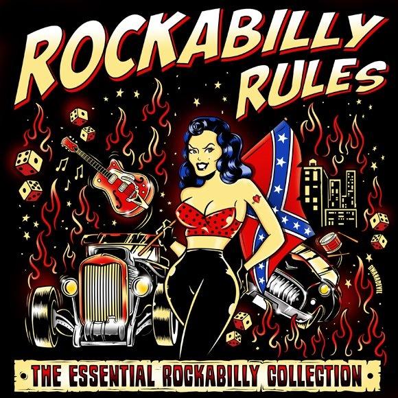 BwanaDevil Art: Rockabilly Rules!