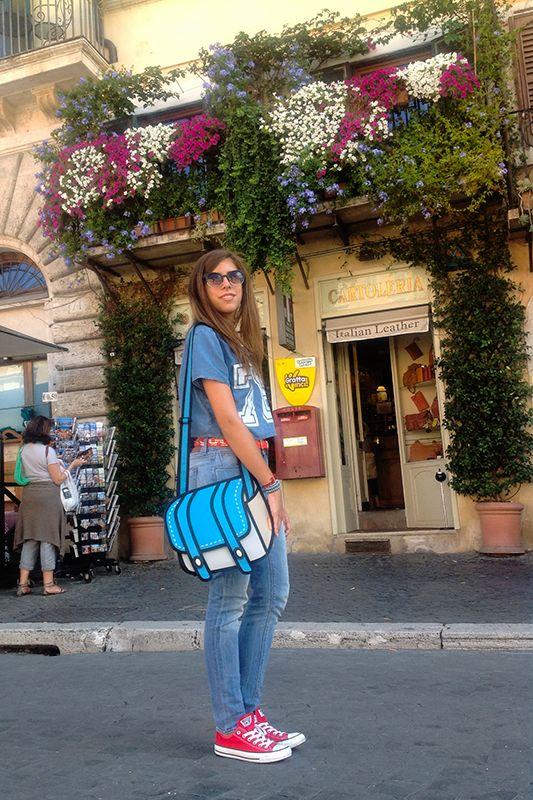 The shopaholic's guide to the galaxy: La città eterna. #fashion #outfit