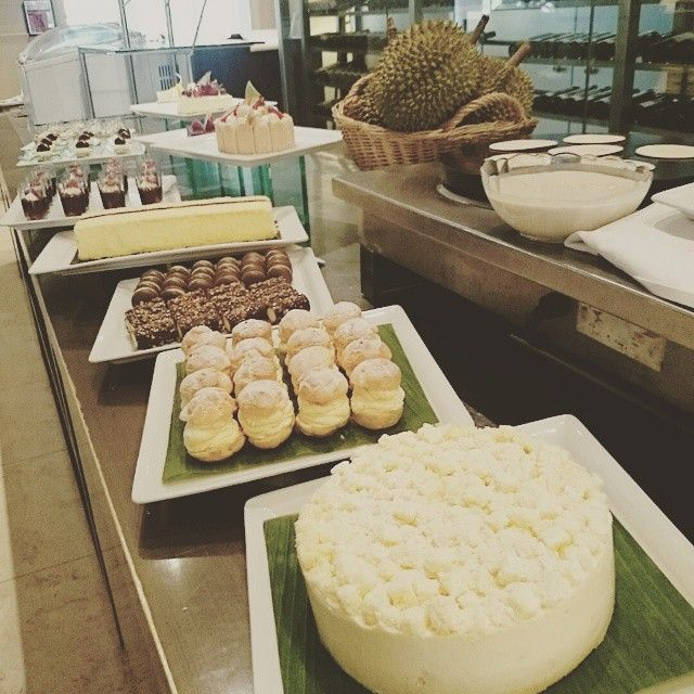 Don't miss our annual #Dessert #Buffet with #Durian Pastries happening at Coffee Lounge during lunch and dinner! #durianfiesta2015 #gwphdurian #delicious