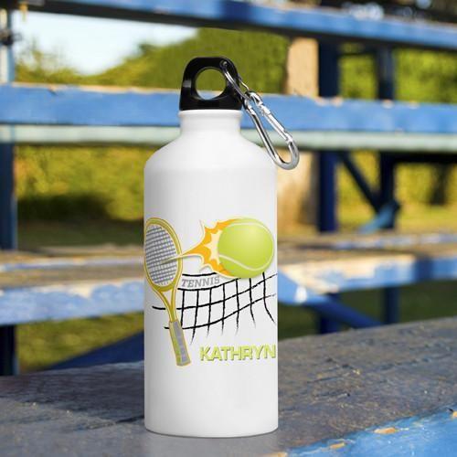 Kid's Sports Water Bottles - Tennis
