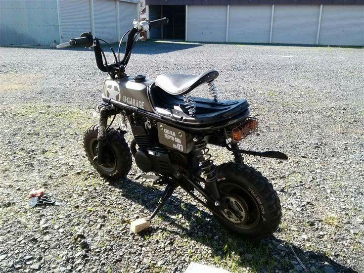 Suzuki pv50 custom