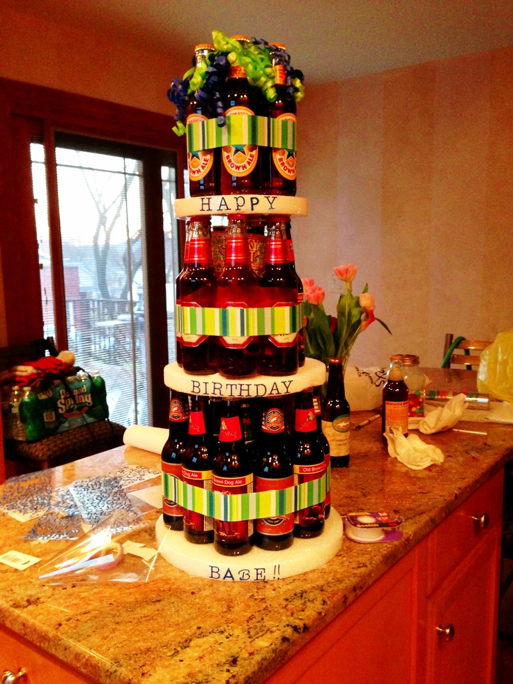 I think im going to do this for Nate's Birthday Cake since he doesn't like real cake all that much