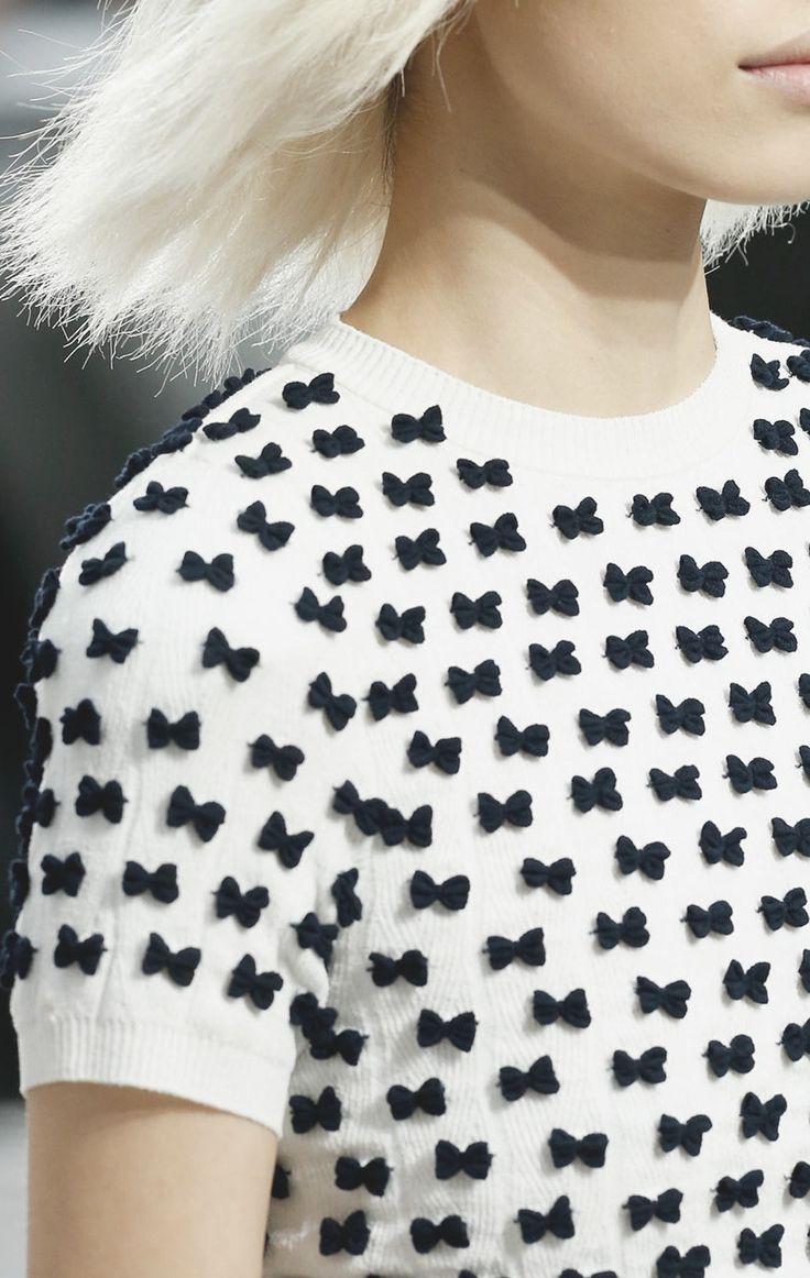 """Bow peep"" -Chanel Spring/Summer, 2014"