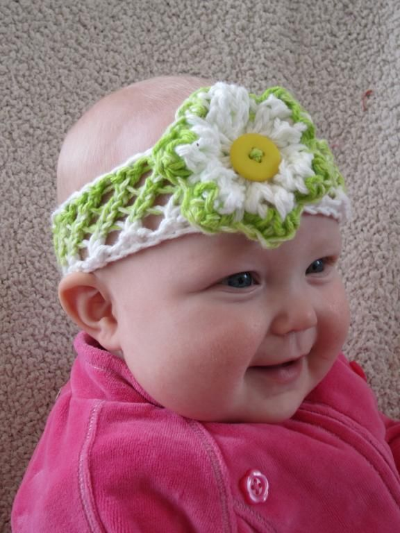 17 Best Images About Baby Headbands Knitting And Crochet