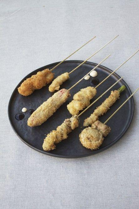 Kushiage  - sticks from Osaka