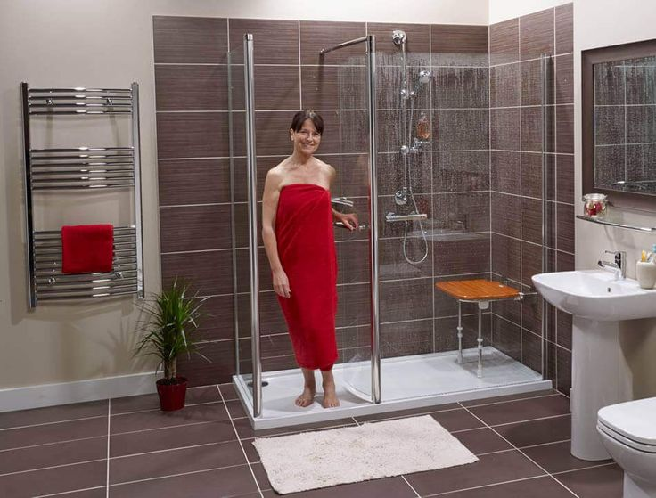 The Revive Walk In Shower Is Reassuringly Safe With Easy Access Features.  Discover