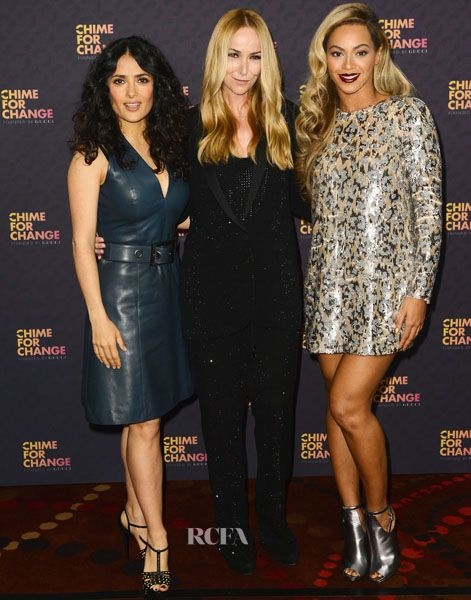 Salma Hayek, Frida Giannini & Beyonce Knowles – 'Chime For Change: The Sound Of Change Live' Concert