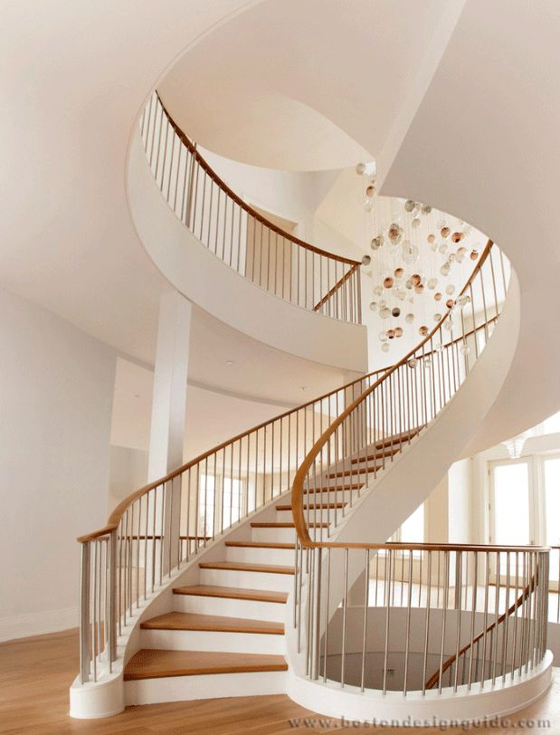 Unique, Fabulous Staircases (Horner Millwork, Built By Cooper Stairworks,  Nicholaeff Architecture +