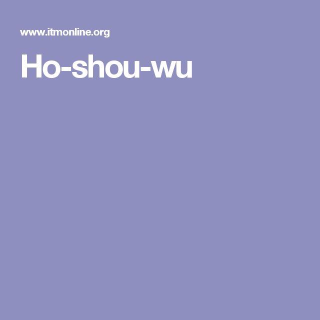 Ho-shou-wu
