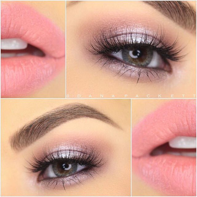 Gorgeous Soft Pink and Lavender Look With Makeup Geek Eye Shadows and Noyah Cosmetics Lipstick!