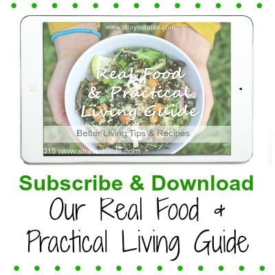 Free Ebook about Real Food and Practical Living by Strayed from the Table.