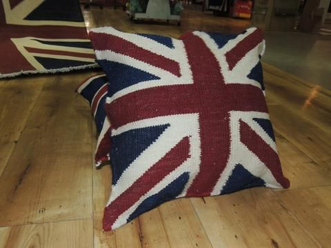 Union Jack Kilim Pillow Covers