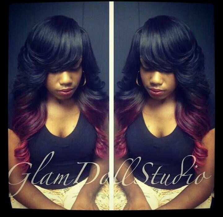 Pin By Tricia S Lifestyle On Black Hair Weaves Pinterest Hair Style Black Hair And Wig