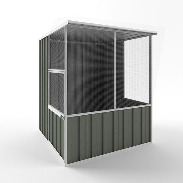 Aviary & Bird House   Keep your pets and animals secure in an aviary from Wide Span Sheds.