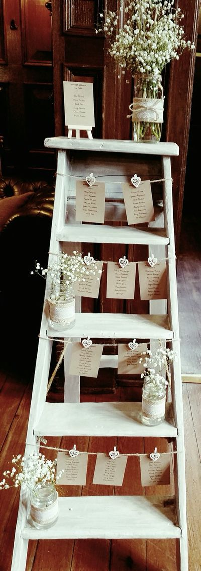 Step Ladder Table Plan