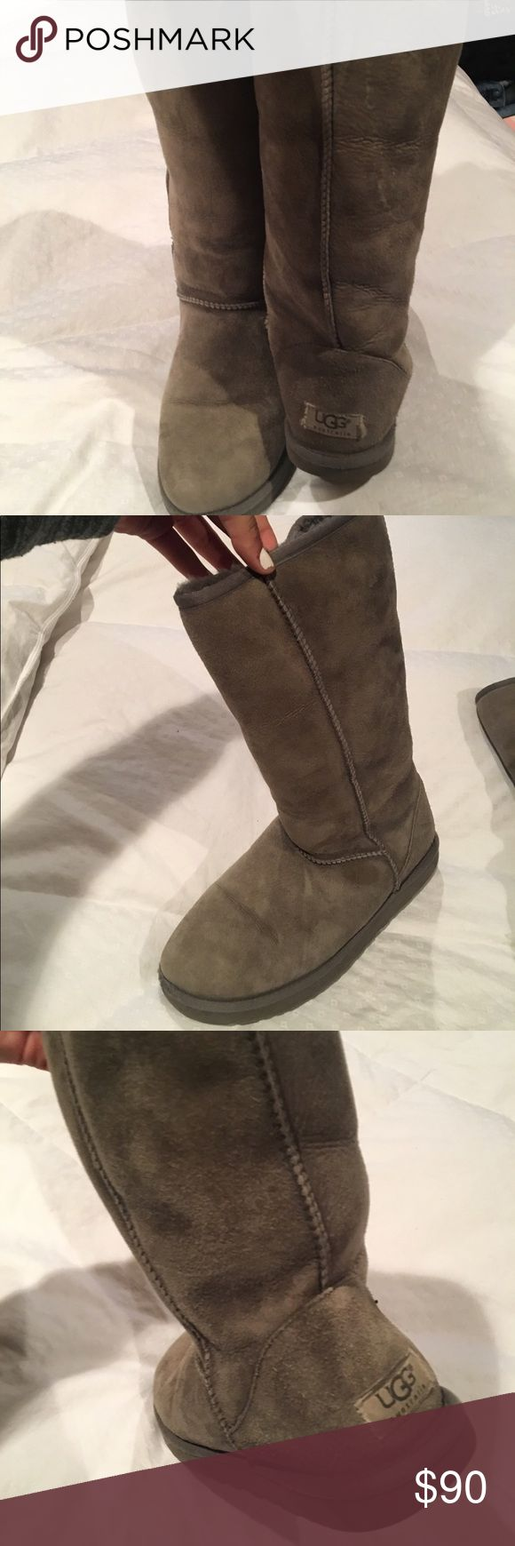 New UGG classic 11. tall grey uggs Very cozy comfy and warm! UGG Shoes Winter & Rain Boots
