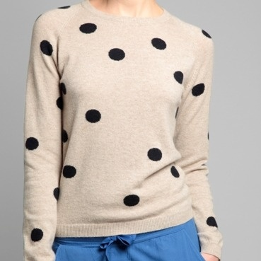 I can't get enough of polka dots. Love this from Chinti and Parker