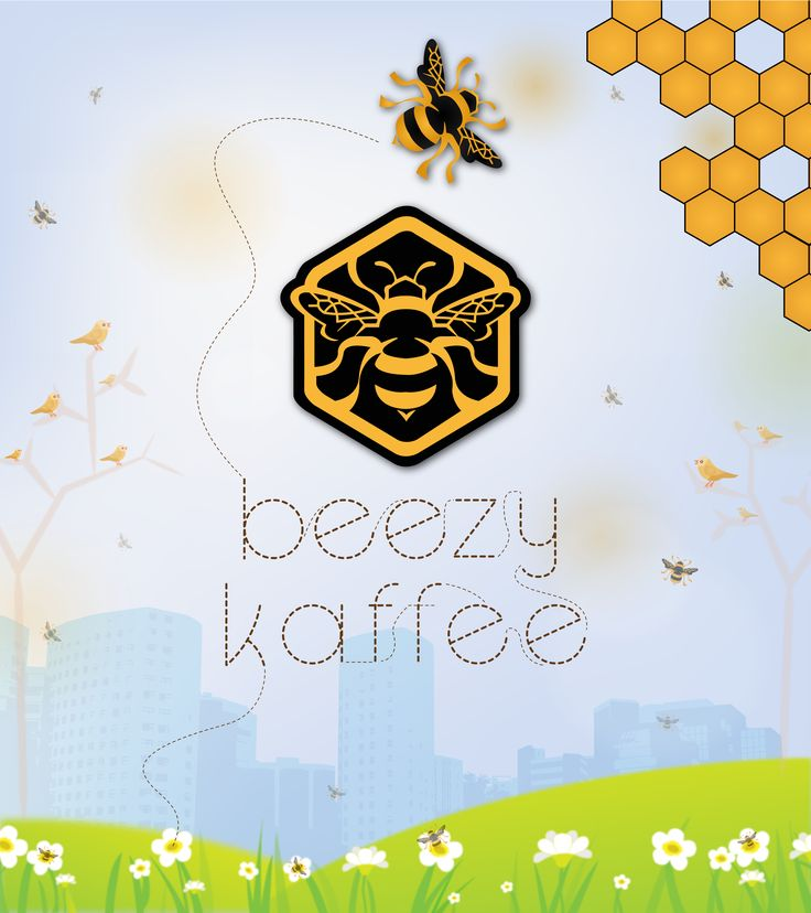 Desain Background Caffe Beezy Kaffe