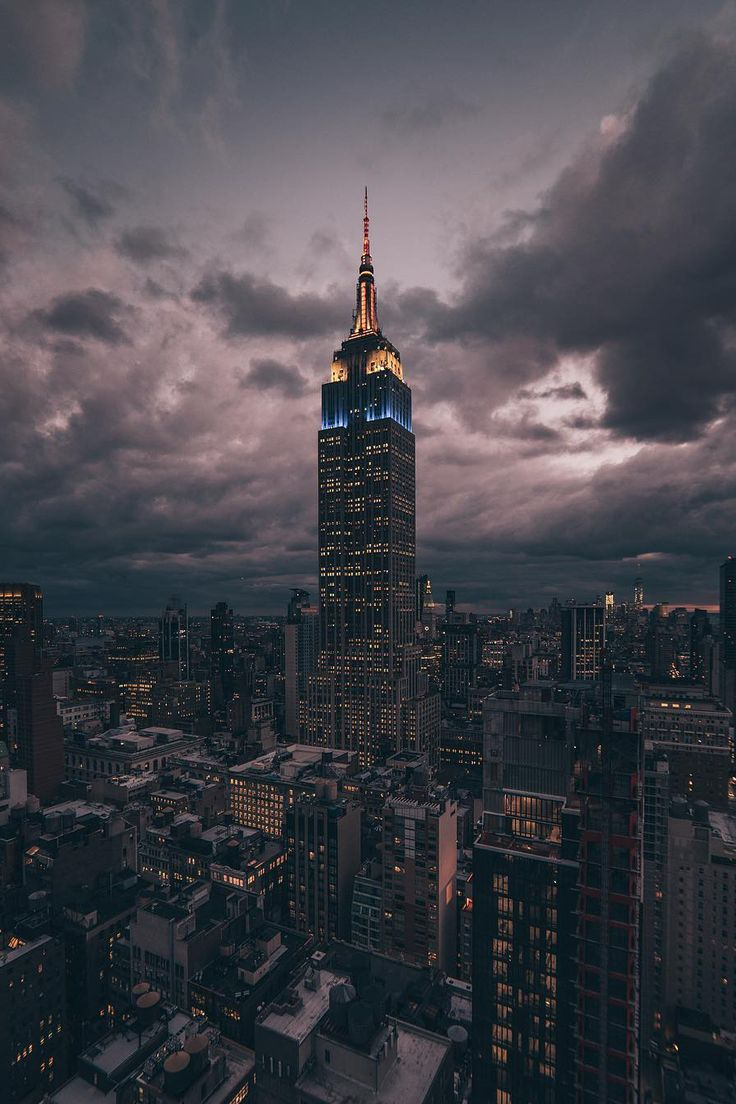Empire State Building by @_deepsky - New York City Feelings                                                                                                                                                                                 More