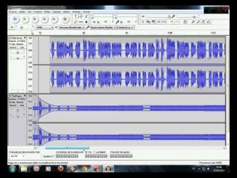 Audacity es una aplicación informática multiplataforma libre, que se puede usar para grabación y edición de audio. Este video es una grabacion multipista a traves de Audacity