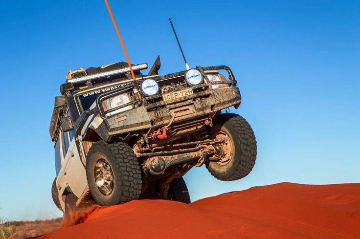 76 at the Simpson desert